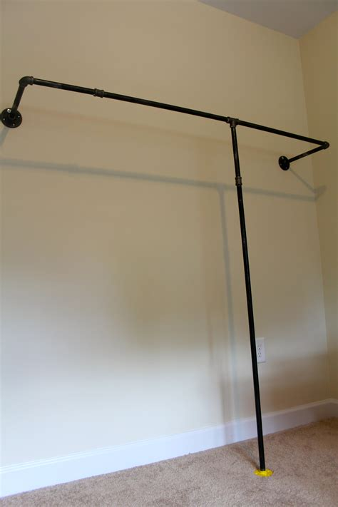 Wall Mount Clothes Rack by 27 Hundred Dresses A Wall Mounted Garment Rack