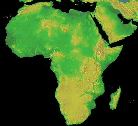 middle east map topographical topographical map of africa size