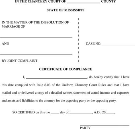 Mississippi Divorce Records Mississippi Divorce Papers For Free Formtemplate