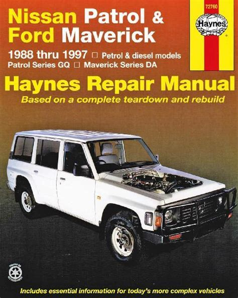 service manual how petrol cars work 1984 ford e250 interior lighting 1984 ford f250 xlt 6 9l nissan patrol gq ford maverick da 1988 1997 haynes owners service repair manual 1563923831
