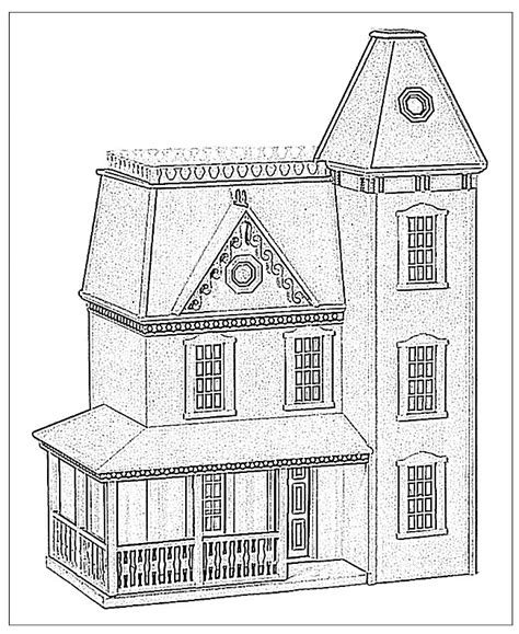 doll house store 81 doll house coloring pages house coloring pages house to color 011