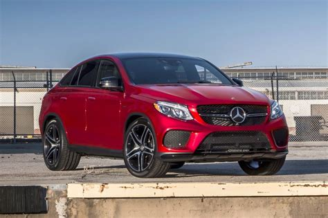 mercedes benz jeep red used 2017 mercedes benz gle class coupe suv pricing for