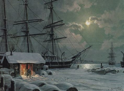 paint nite nantucket stobart new bedford snowfall on central wharf