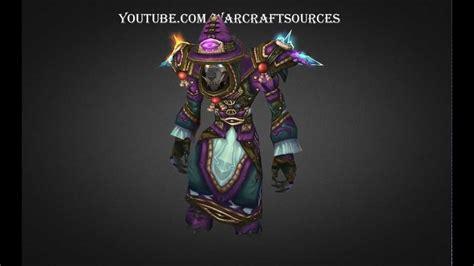 challenge mode mage worgen mage challenge mode set elemental triad armor