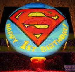 superman kuchen krazzy cakes superman cake