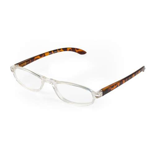 optx 20 20 mode unisex reading glasses tortoise