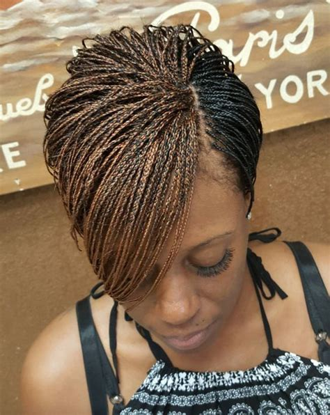 pixie twist hairstyle braids black hair and twists on pinterest