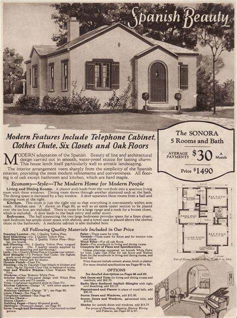 1910 style home plans 1920 style home plans vintage spanish revival bungalow house plans