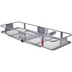 sportrack hitch mounted folding cargo carrier granite