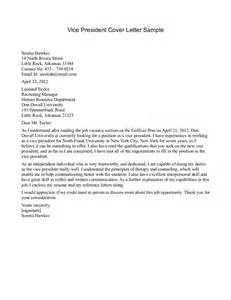 Offer Letter Vp Of Sales Cover Letter To Human Resources Department