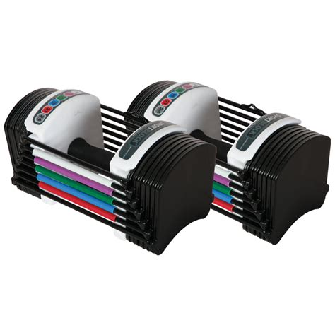 Dumbbell Powerblock powerblock sport 24 adjustable dumbbell set busy gyms to go