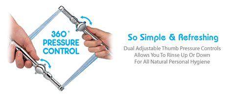 aquaus 360 bidet rinseworks aquaus handheld bidet sprayer