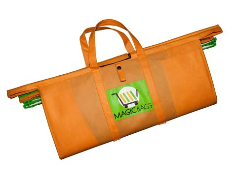 Market Bags By Hersh The Bag by Reusable Grocery Bags The Magic Bags Supermarket Bags