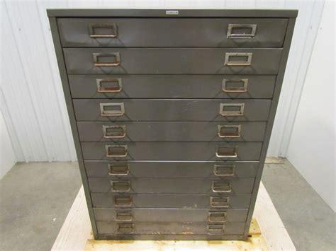 Blueprint Flat File Cabinet by Cole 11 Drawer Steel Flat File 20 Quot D X 27 1 2 Quot W X 37 5 8