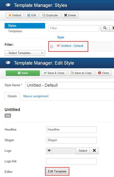 Joomla Template How To Use | how to use joomla template billionanswers