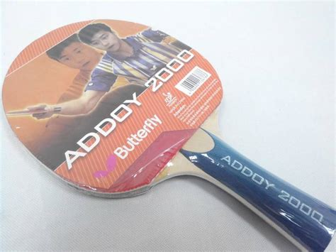 Bad Pingpong Butterfly Addoy 2000 butterfly addoy 2000 ping pong table tennis bat blade paddle with rubber ebay