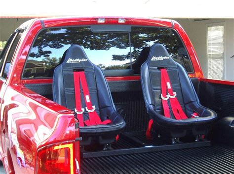 subaru truck with seats in bed bedryder truck bed seating shark tank products