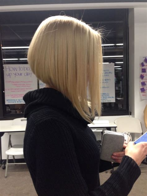 drastic a line haircut pictures bob drastic blonde longbob good hair day pinterest