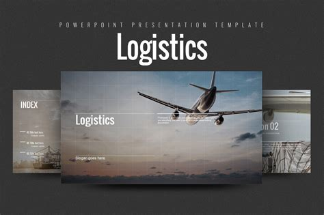 Templates For Logistics Presentation | logistics ppt by goodpello design bundles