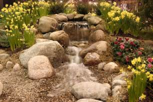 build a garden ponds waterfall feature in your backyard
