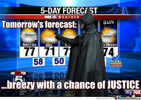 partly cloudy with a quot chance quot of lol what a partly cloudy with a chance of fighting crime by rorschach meme center