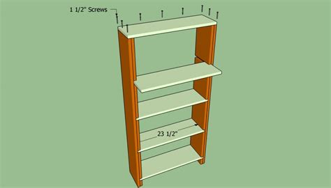 how to build a bookcase wall howtospecialist how to