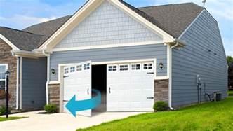 garage door buying guide garage door opening types