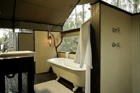 tent bathroom gling new south wales luxury cing nsw
