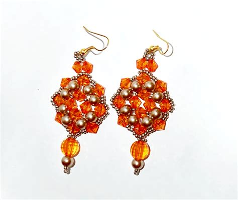 beaded earrings patterns free earrings pattern magic