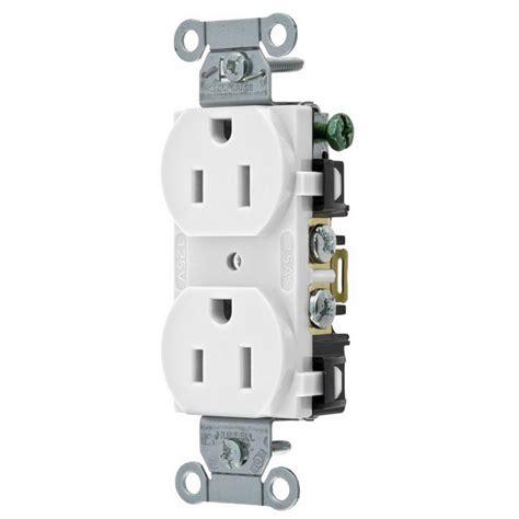 hubbell wiring br15whi pole blade duplex