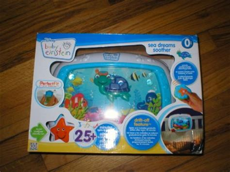 Baby Einstein Crib Soother With Remote Disney Baby Einstein Sea Dreams Soother Crib Lights Remote New Ebay