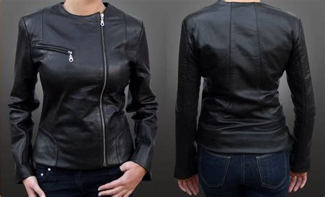 Jaket Wanita 109 Stj 171 jual jaket wanita kulit domba asli win j 109 win leather win leather