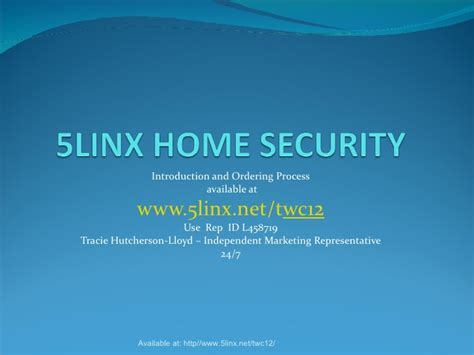 5linx home security 1297639115 phpapp01
