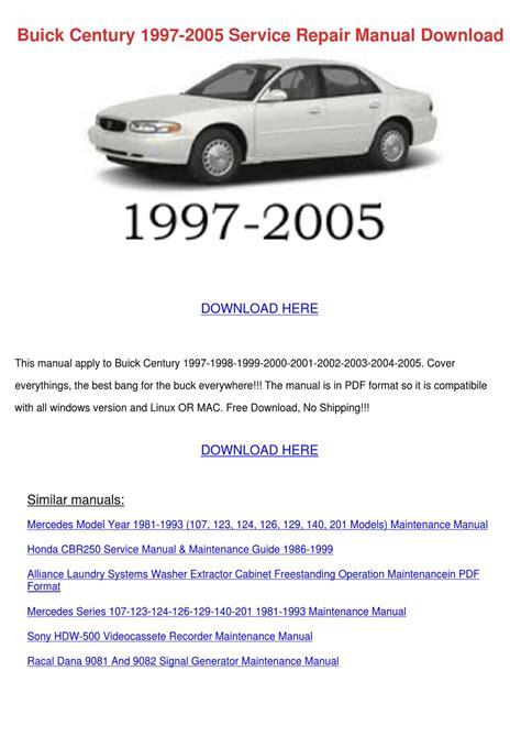 best auto repair manual 2005 buick century regenerative braking buick century 1997 2005 service repair manual by johnette phile issuu