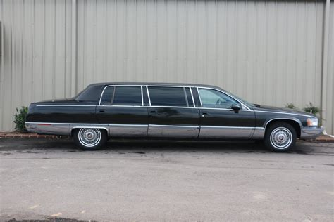 cadillac limousine 1993 cadillac fleetwood limousine for sale 75352 mcg