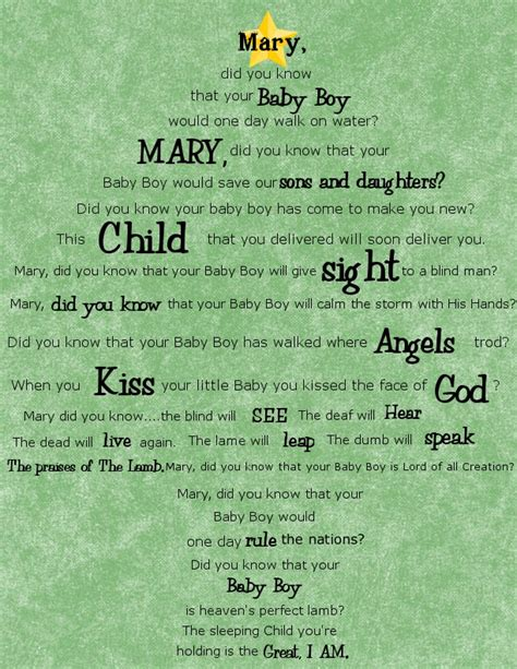 printable lyrics of mary did you know get your crap together christmas printable mary did you