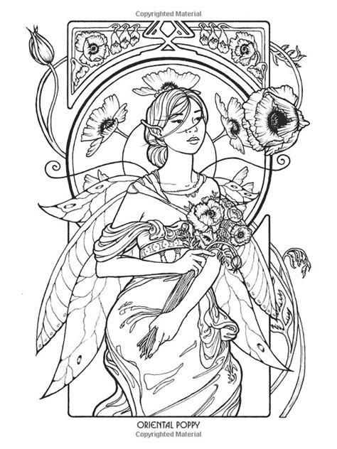 mystical elf coloring pages fairy myth mythical mystical legend elf fairy fae wings