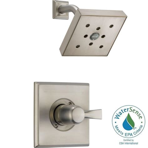 Delta Dryden Shower Faucet by Delta Dryden 1 Handle H2okinetic 1 Spray Shower Faucet