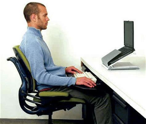 better posture sitting at desk best sitting position for lower back