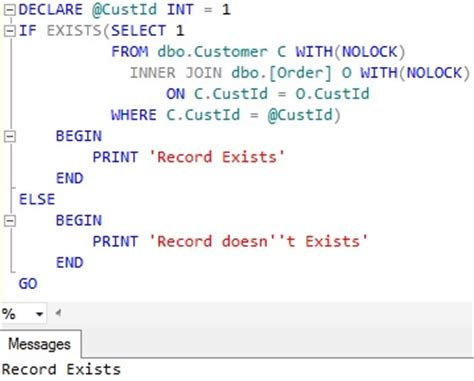 sql check if temp table exists sql server if exists sqlhints com
