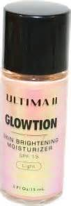 Ultima Ii Light ultima ii glowtion ultima ii skin brightening moisturiser
