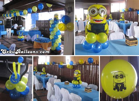 Minions Decoration by Minions Despicable Me Cebu Balloons And Supplies