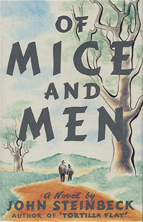 libro the play of george john steinbeck of mice and men death of lenny