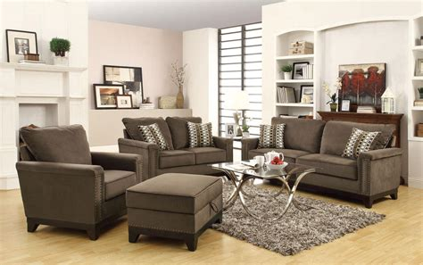 coaster living room furniture coaster furniture chocolate velvet living set