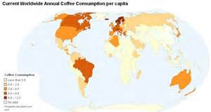 Likewise world coffee consumption as well coffee growing regions world