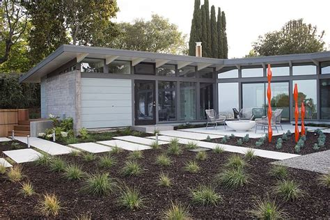 1950s mid century modern home remodeled into a smart