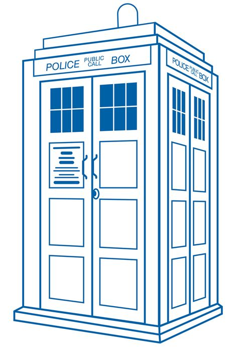 Parallelgraphics Outline 3d by Tardis Clipart Cliparts Co