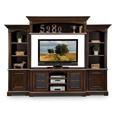 Wall Unit | berkshire entertainment wall units 4 pc entertainment