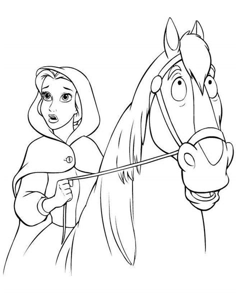 girl horse coloring page disney cartoon girl on horse coloring pages az coloring
