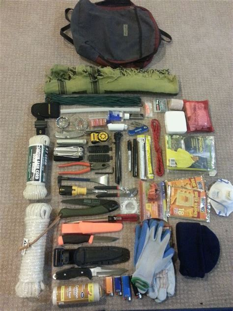 pin by k grn on bug out bag contents list